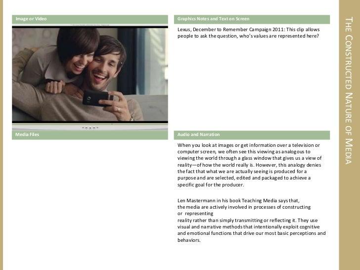 Media Literacy (Brief) Overview Storyboard Slide 3