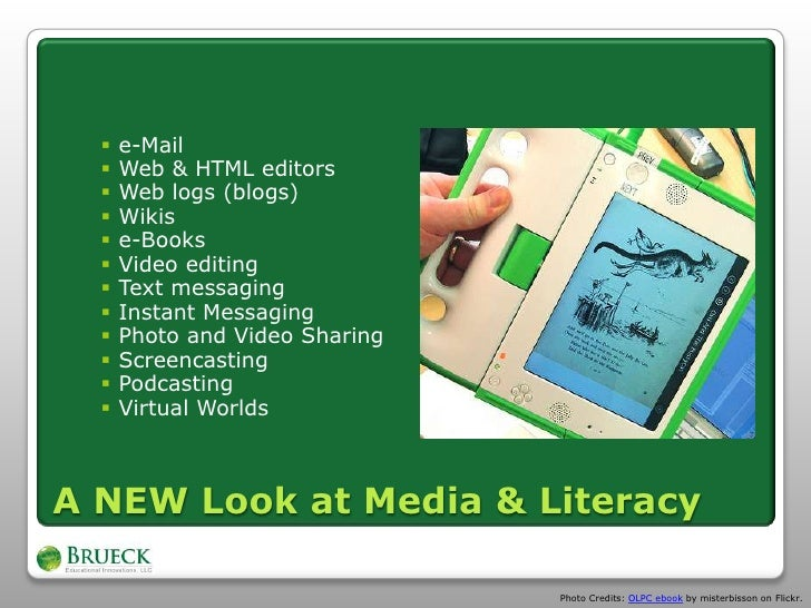 thesis on media literacy 3 integrates print, audiovisual, telephony and computer media hence, we need a conceptual framework that spans these media literacy seems to do the work required.