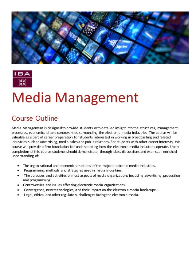 course outline of environmental management Our iso 14001 training & ems training course is designed to provide delegates a knowledge of all elements involved in implementing an environmental management system.