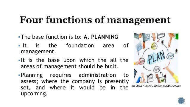 Media management functions