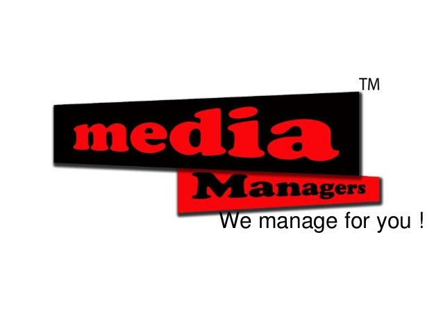 We manage for you !