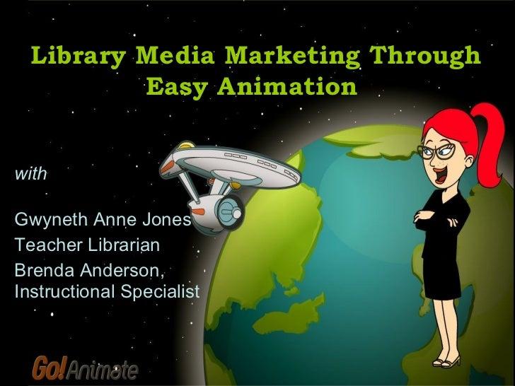 Library Media Marketing  Webinar