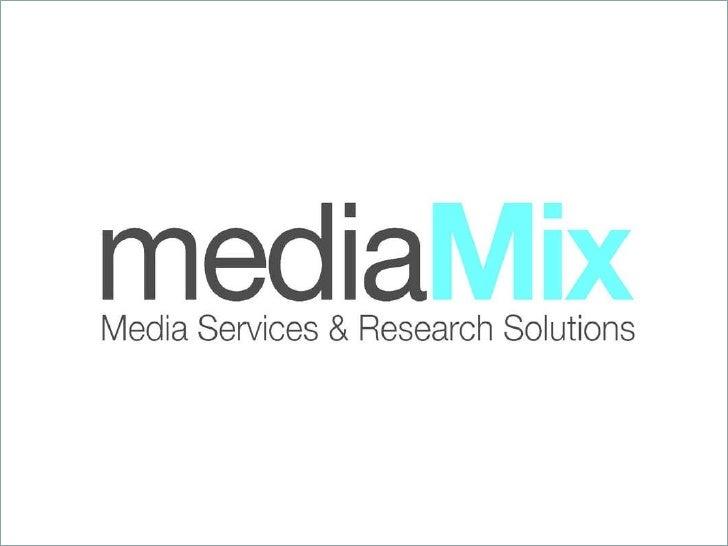 Media Mix Services