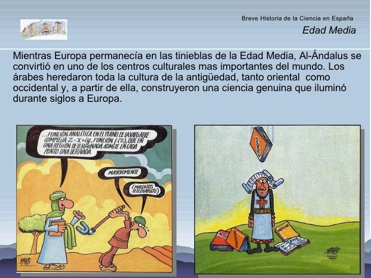 Breve Historia de la Ciencia en España (2ª parte)