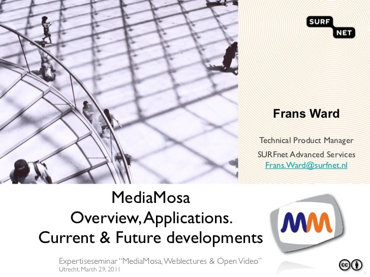 Frans Ward                                                       Technical Product Manager                                ...