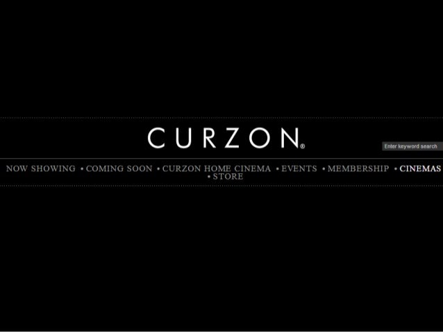 Curzon Cinemas are a chain of multiplex cinemas based in the United Kingdom, mostly in London. They also have a video on d...