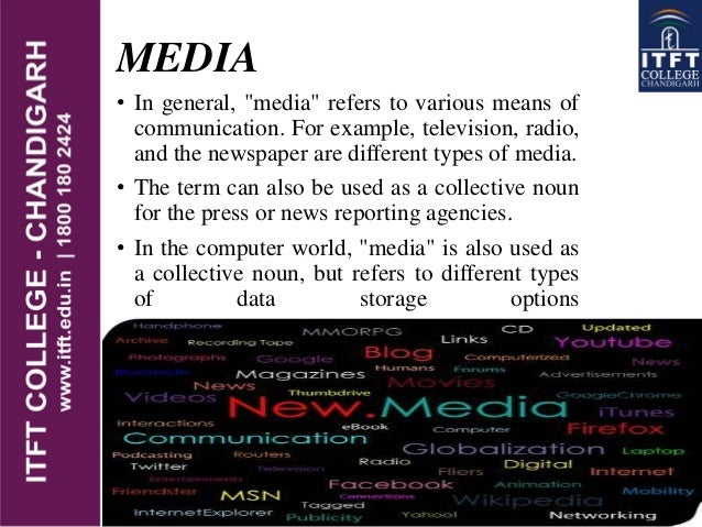 electronic media and globalization The impact of social media in our daily lives social media, therefore, is the sites are certainly a step toward world globalization.
