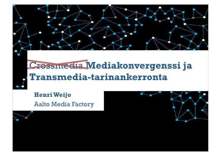 Mediakonvergenssi