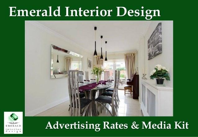 Emerald Interior Design Advertising Rates Media Kit