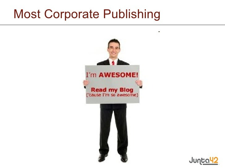 Most Corporate Publishing