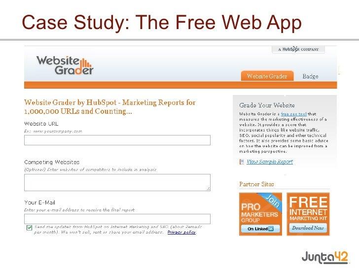 Case Study: The Free Web App