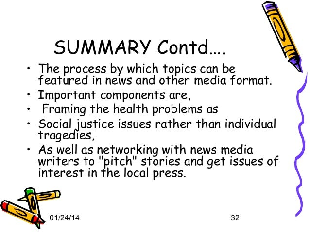 The role of media in promoting