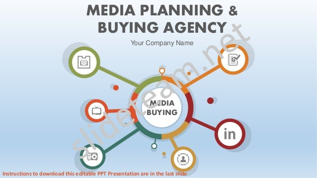 G MEDIA BUYING MEDIA PLANNING & BUYING AGENCY Your Company Name Instructions to download this editable PPT Presentation ar...
