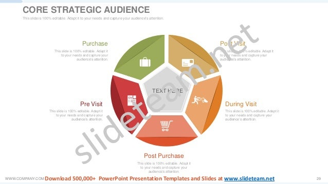 WWW.COMPANY.COM 29 TEXT HERE This slide is 100% editable. Adapt it to your needs and capture your audience's attention. Du...