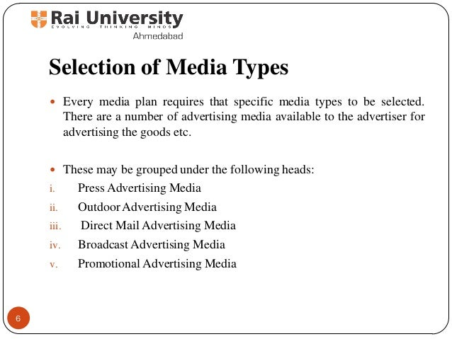 media selection planning and scheduling Media planning essentials client and agency in media planning scheduling and  media selection in advertising media selection in advertising what kinds of ads.