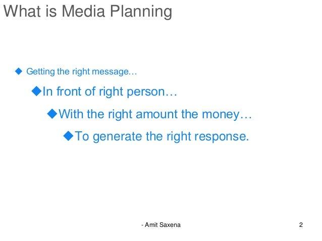Media planning basics  Slide 2