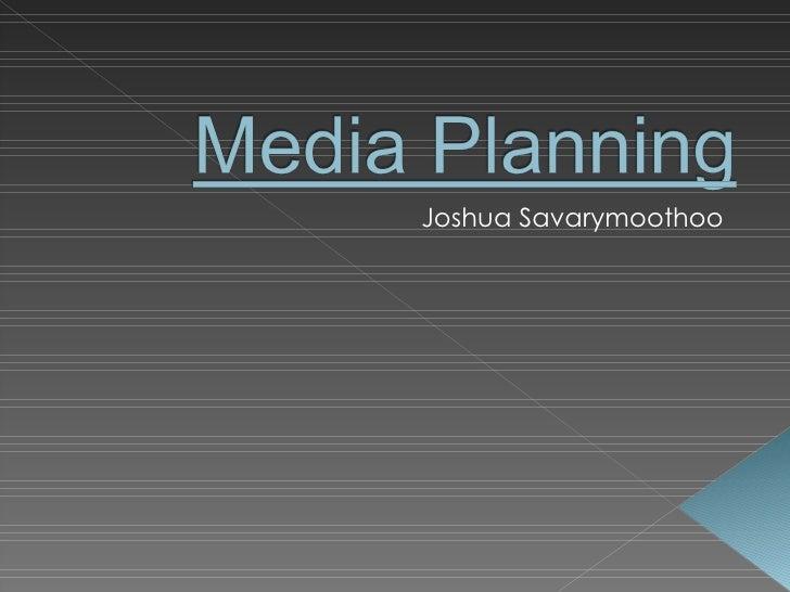Joshua Savarymoothoo