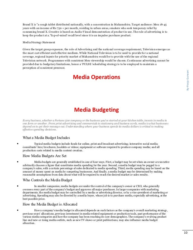 elements of media planning The success of your paid media campaign is decided before your first advertisement goes livehere we offer a comprehensive check list which direct marketers and small to medium business can use to guide you through all steps of the advertising and media planning and buying process.