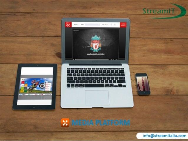 CDN globali Advertising Monetizzazione Una strategia digitale per i tuoi video online StreamUK è in grado di fornire la te...