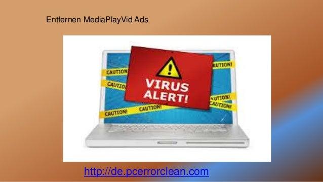 http://de.pcerrorclean.com Entfernen MediaPlayVid Ads