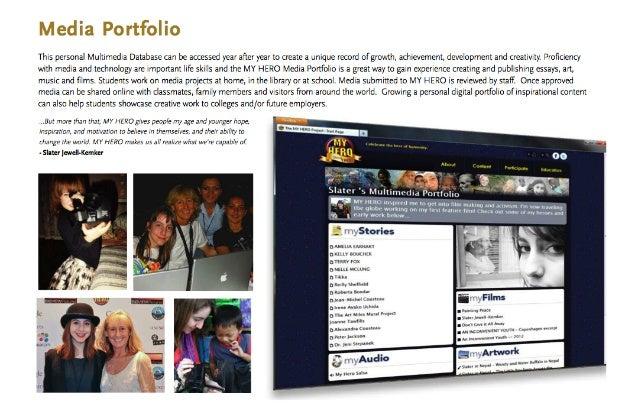 The MY HERO Project - Media Portfolio