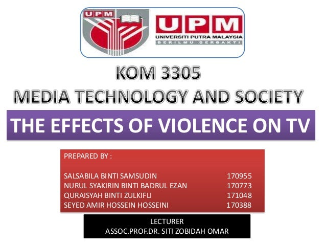 violence on television and its effects The impact of tv violence on children and adolescents the research on the effects of tv violence have been short term effects of television aggression.