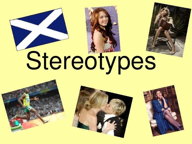 Media Presentation stereotypes