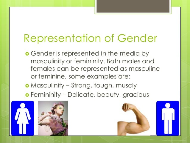 Gender representation media essay