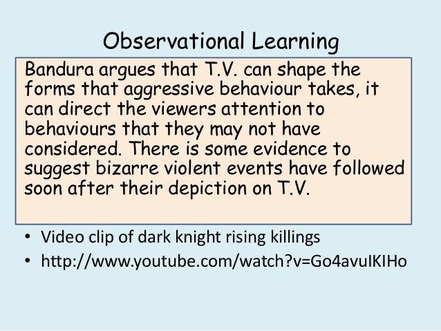 Observational Learning And Media Violence Essays - image 4