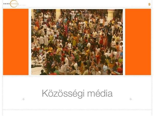 Közösségi média  9