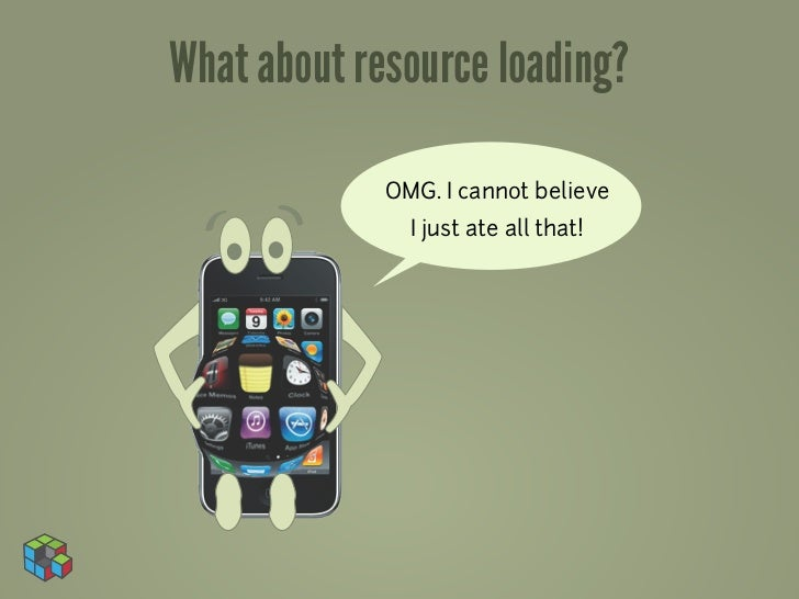 What about resource loading?             OMG. I cannot believe               I just ate all that!