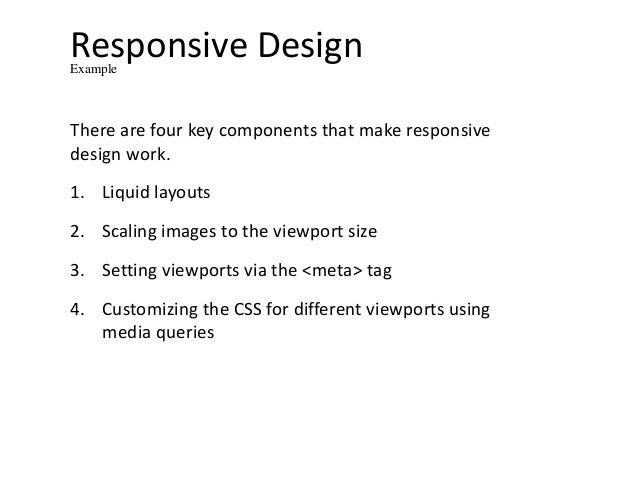 Media queries and frameworks responsive designexample malvernweather Image collections
