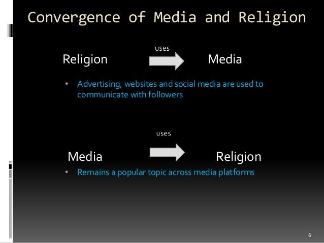role of media in religion