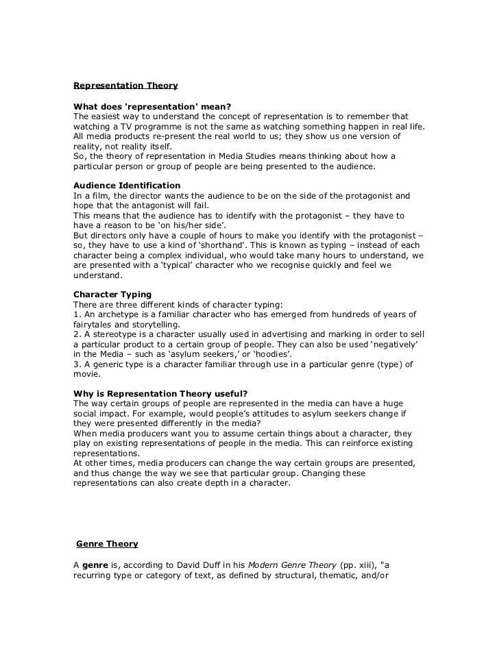 Representation And Men S Health Magazine: Media Representation Theory