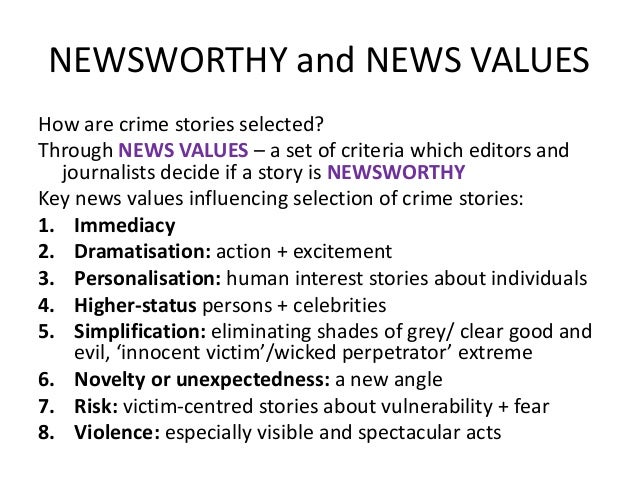 media representation of violent crimes Media representation of crime - moral panic  williams and dickinson (from the weekly reading) documented that the media's tendency to focus on violent crime has led to a poorly informed.