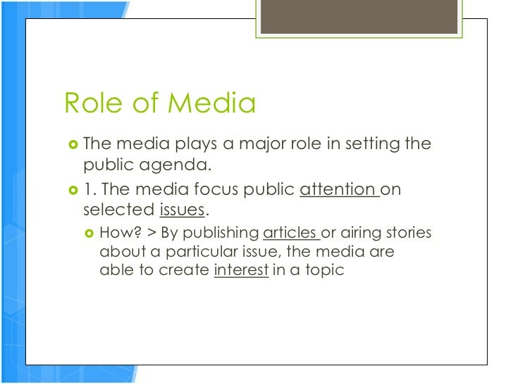 policymaking and the media 2017-4-26  policy with impact 7 media consumption statistics support the notion that public impact  often gets ignored  policymaking is often driven by short-term consid .