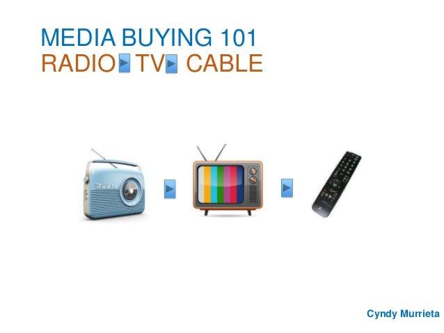 media buying 101