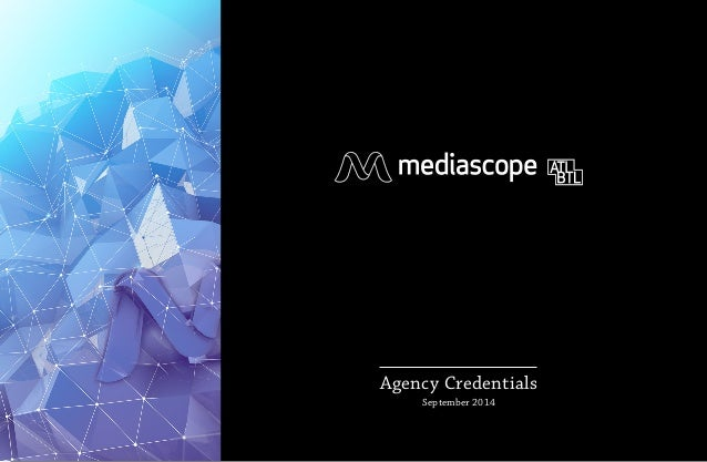 Agency Credentials  June 2014