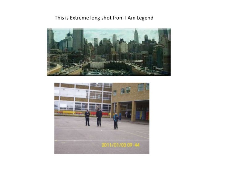 This is Extreme long shot from I Am Legend<br />