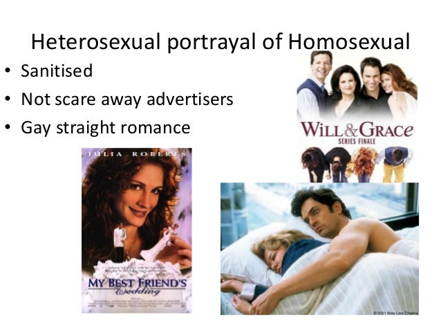 Media portrayal of homosexuality