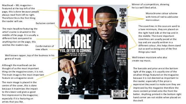 Media Music Magazine Analysis Powerpoint