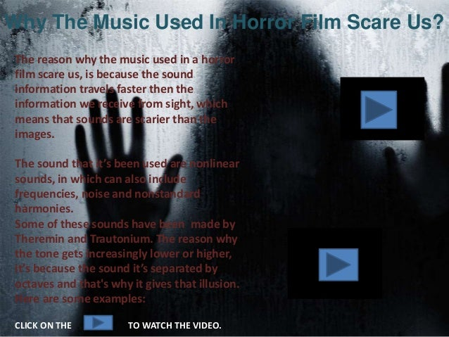 The Importance Of Sound In Horror Films Slide 3