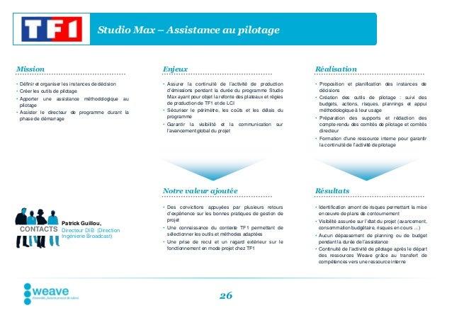 Studio Max – Assistance au pilotageMission                                                 Enjeux                         ...