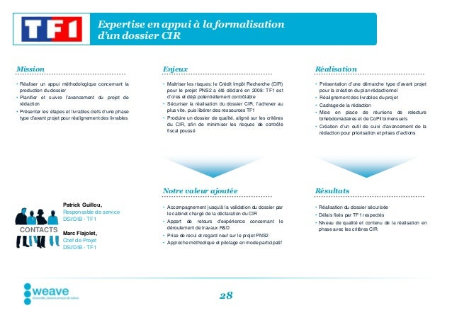 Expertise en appui à la formalisation                                      d'un dossier CIRMission                        ...