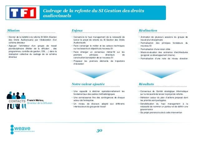Cadrage de la refonte du SI Gestion des droits                                       audiovisuelsMission                  ...