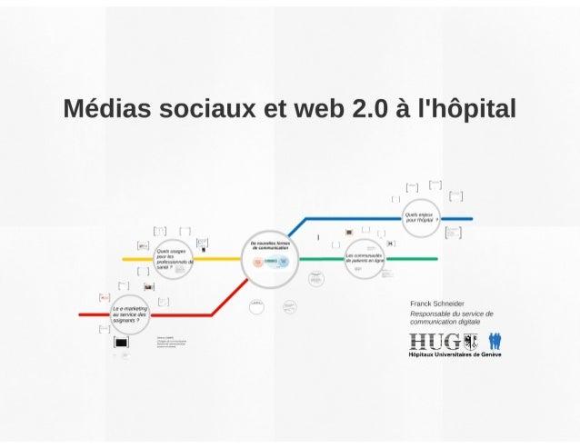 Médias sociaux et web 2.0 à l'hôpital