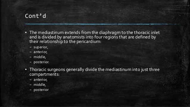Mediastinal tumor Slide 3