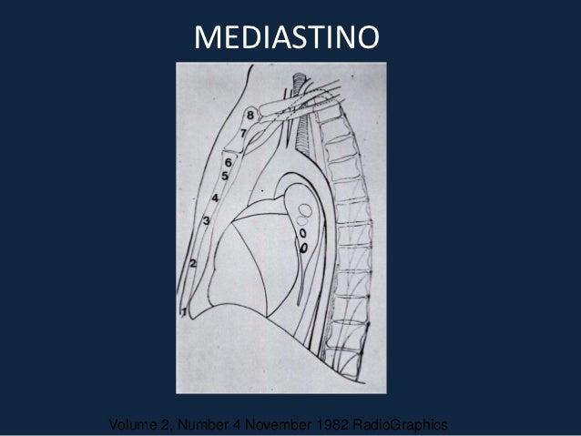 MEDIASTINOVolume 2, Number 4 November 1982 RadioGraphics