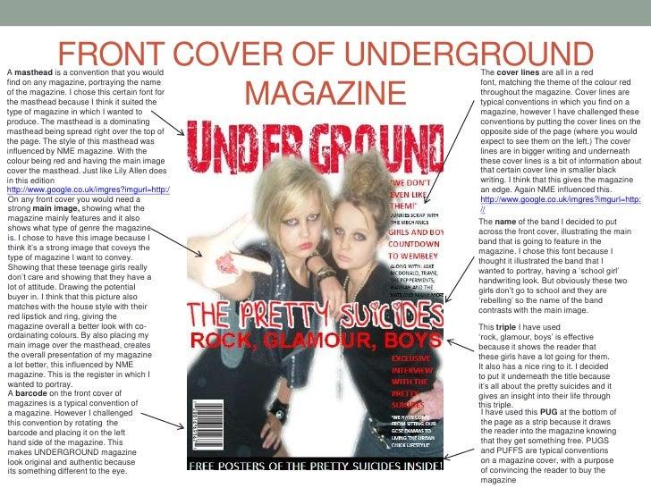 As media coursework evaluation magazine