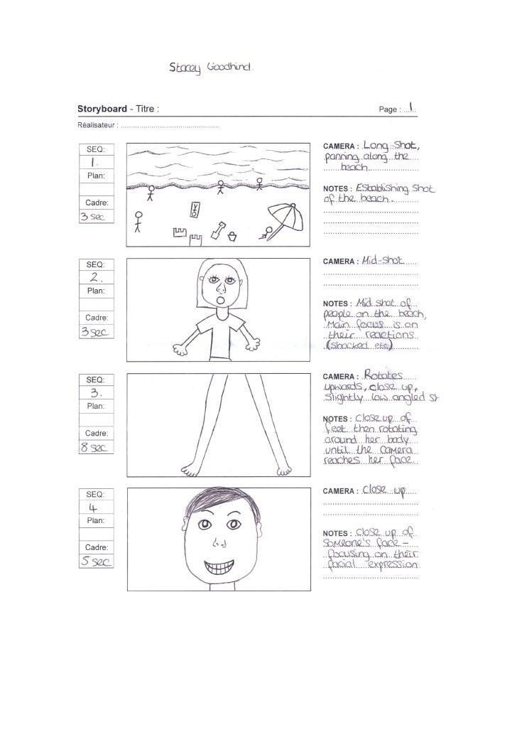 Studies Storyboard